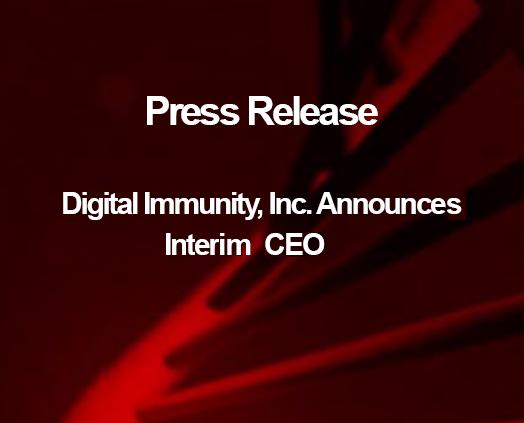 DI Announces Interim CEO